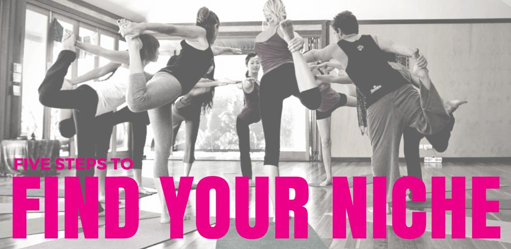 find your yoga teaching niche